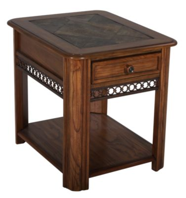 Magnussen Madison Rectangular End Table
