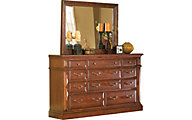 Progressive Torreon Dresser with Mirror