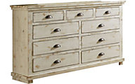 Progressive Willow White Dresser
