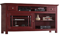 Progressive Emerson Hills 64-Inch Red TV Stand