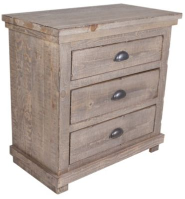 Progressive Willow Gray Nightstand