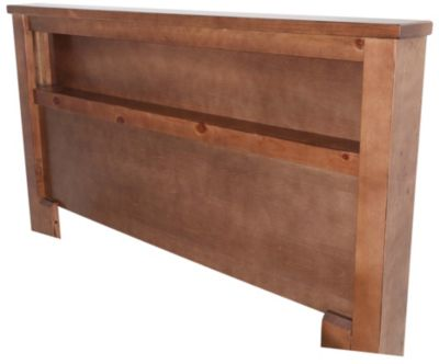 Progressive Diego Dune Queen Bookcase Headboard