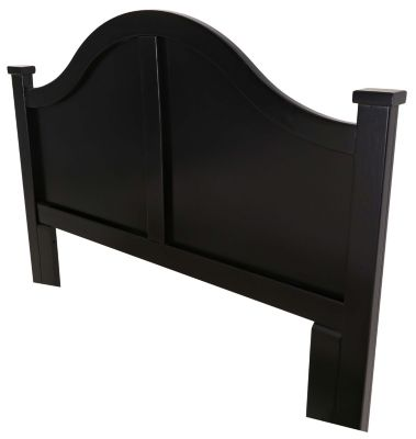 Progressive Diego Black Queen Arched Headboard
