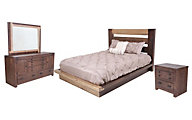 Progressive Trilogy 4-Piece Queen Bedroom Set