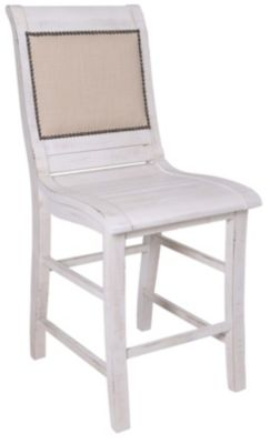 Progressive Willow Upholstered Counter Chair