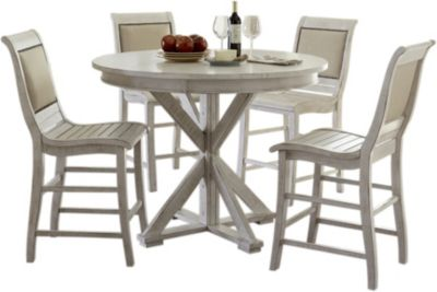 Progressive Willow 5-Piece Upholstered Counter Dining Set