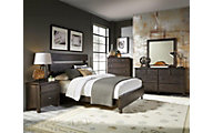 Progressive Brickyard 4-Piece Queen Bedroom Set