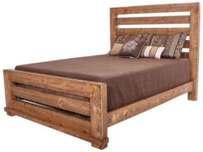 Progressive Willow Pine King Bed