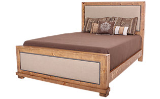 Progressive Willow Pine Queen Upholstered Bed
