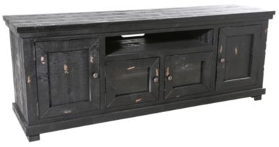 Progressive Willow Black 74-Inch TV Console