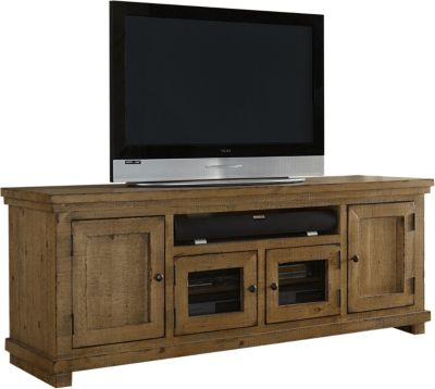 Progressive Willow Pine 74 Inch TV Console
