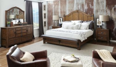 Pulaski Erich Church Heartland Falls Queen Bedroom Set