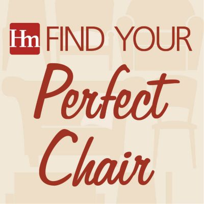 Find Your Perfect Chair Infographic