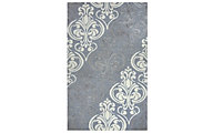 Rizzy Lancaster Gray 8' X 10' Rug