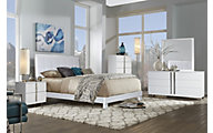 Rotta Venezia White 4-Piece Queen Bedroom Set