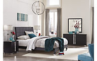 Rotta Venezia Black 4-Piece King Bedroom Set