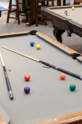 Pool table at Homemakers