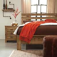 Rustic Ashley Cinrey Queen Bed