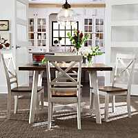Rustic Standard Furniture Amelia 5 Piece Dining Set