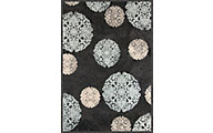 Sams International Napa Dante Charcoal 5' X 8' Rug