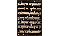Sams International Napa Maze Charcoal 5' X 8' Rug
