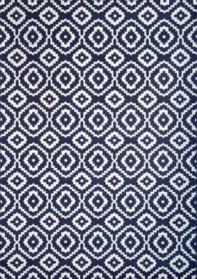 Sams International Sonoma Verona Navy 5' X 8' Rug