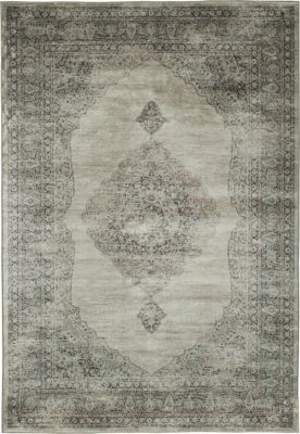 Sams International Sonoma Silver/Charcoal 5' X 8' Rug