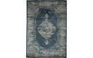Sams International Sonoma Navy/Silver 5' X 8' Rug