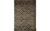 Sams International Sonoma Chocolate/Gold 5' X 8' Rug