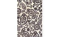 Sams International Sonoma Black 5' X 8' Rug