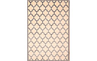 Sams International Sonoma Light Blue/Ivory 5' X 8' Rug