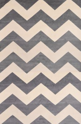 Sams International Sonoma Chevron Light Slate 5' X 8' Rug