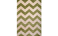 Sams International Sonoma Chevron Apple Green 5' X 8' Rug