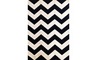 Sams International Sonoma Chevron Black 5' X 8' Rug