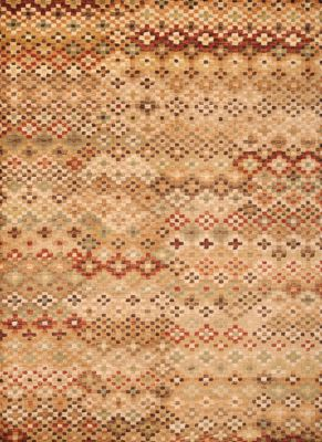 Sams International Sonoma Tile Multi 5' X 8' Rug