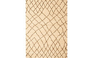 Sams International Granada Crosshatch Tan 5' X 8' Rug