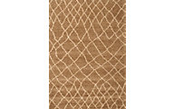 Sams International Granada Crosshatch Brown 8' X 11' Rug