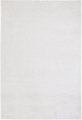 Sams International Domino 5' X 8' White Rug