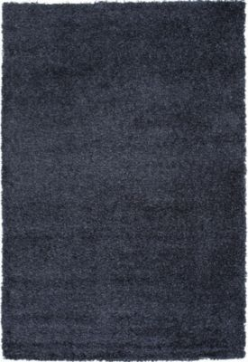 Sams International Domino 8' X 11' Blue Rug
