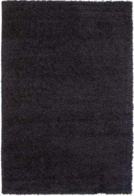 Sams International Domino 8' X 11' Black Rug
