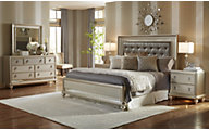 Samuel Lawrence Diva 4-Piece King Bedroom Set