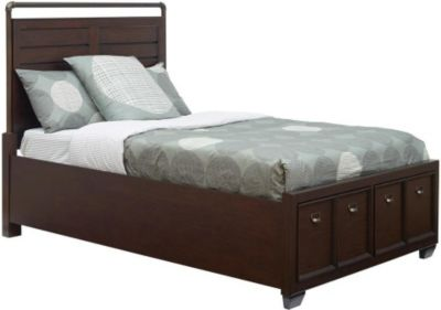 Samuel Lawrence Clubhouse Twin Storage Bed