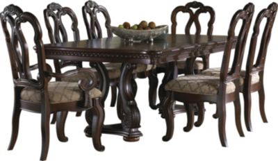 Samuel Lawrence San Marino Pedestal Dining Table Only Homemakers