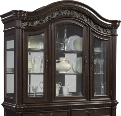 Samuel Lawrence San Marino Traditional Hutch Homemakers Furniture