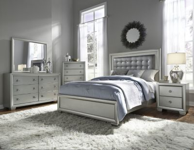 Samuel Lawrence Celestial 4-Piece Queen Bedroom Set