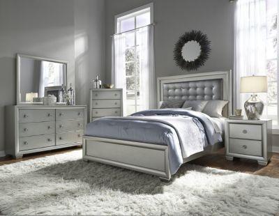 Samuel Lawrence Celestial 4-Piece Queen Bedroom Set | Homemakers ...