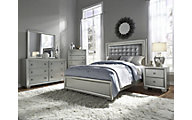 Samuel Lawrence Celestial 4-Piece King Bedroom Set