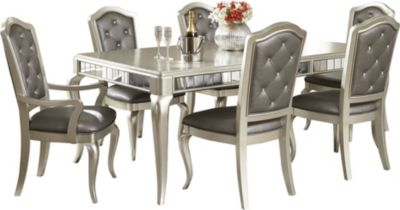 Samuel Lawrence Diva Table, 4 Side & 2 Arm Chairs