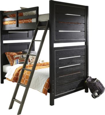 Samuel Lawrence Graphite Twin/Twin Bunk Bed
