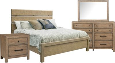 Samuel Lawrence Flatbush 4-Piece King Bedroom Set